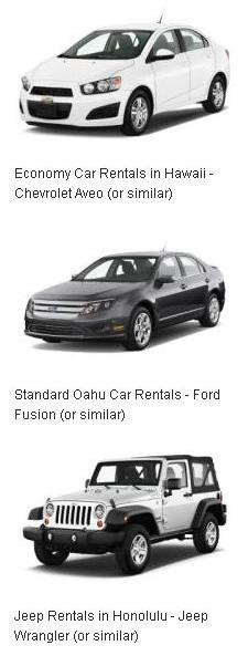 Rental Cars in Hawaii